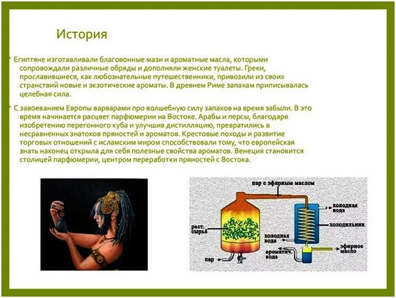 istorija-aromamasel