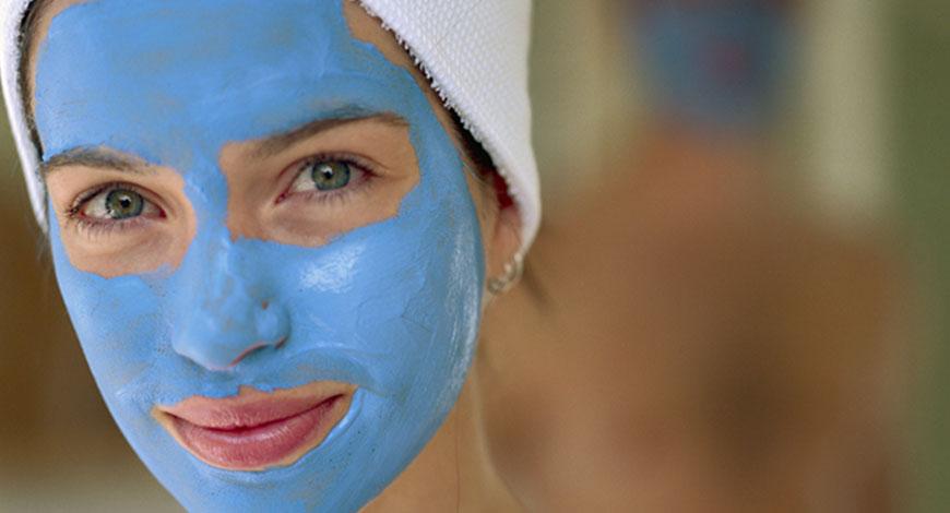 ТОП-2 маски из голубой глины для лица