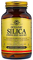 Океанический оксид кремния из красных водорослей