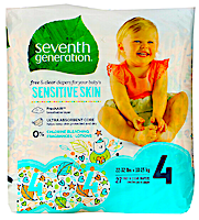 Seventh Generation, Free & Clear Diapers