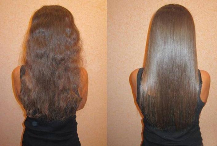 Результат ополаскивания волос мать-и-мачехой