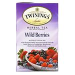 Травяной чай «Дикие ягоды» от Twinings со смородиновой листвой